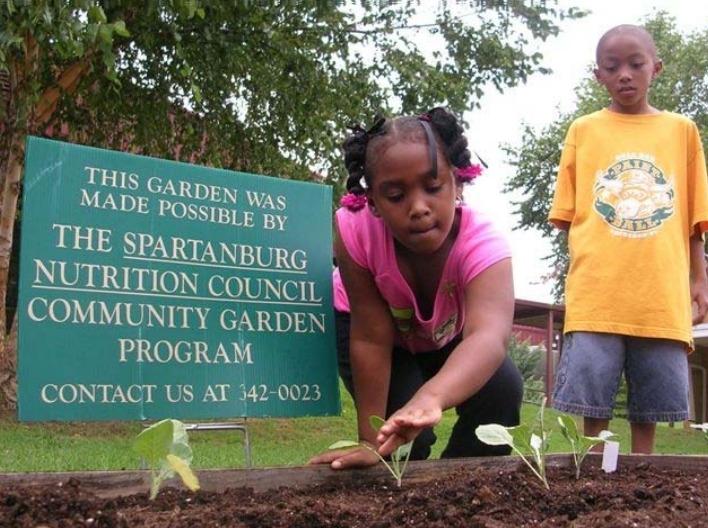 spartanburg garden