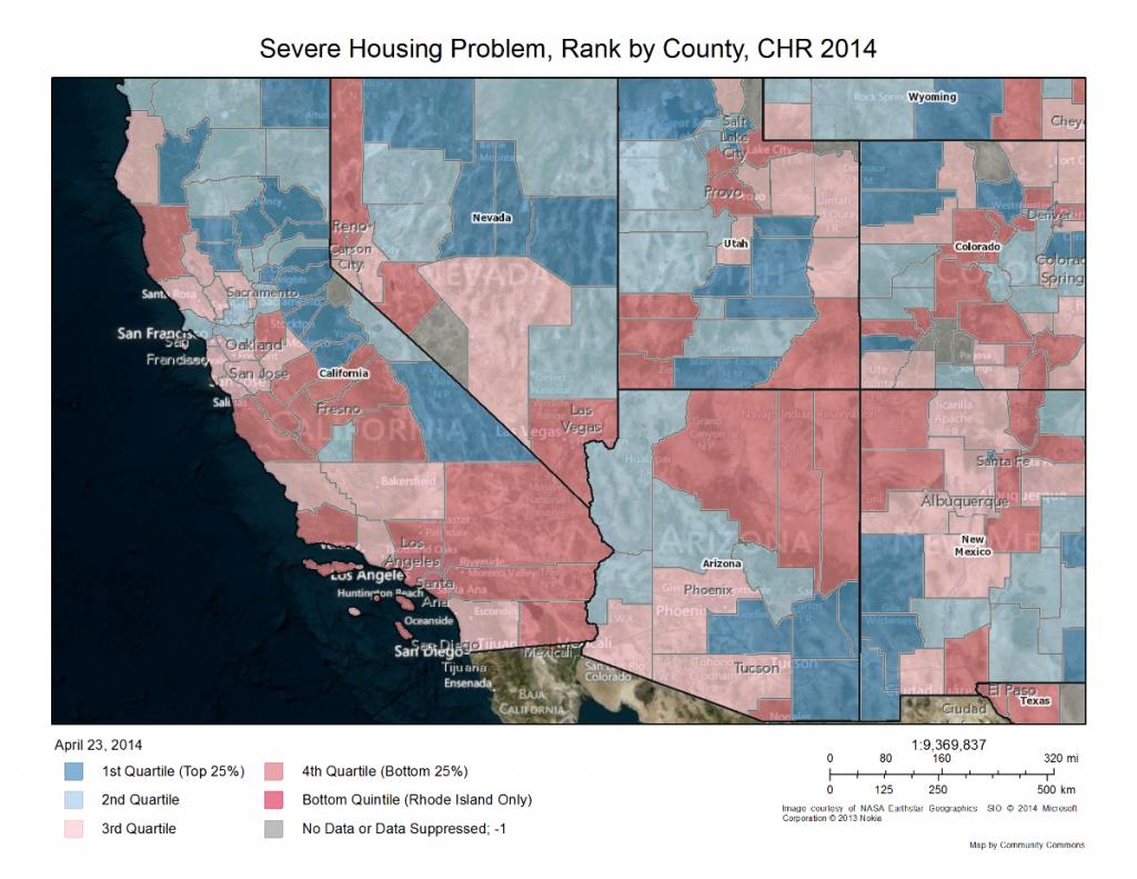 CHR housing map