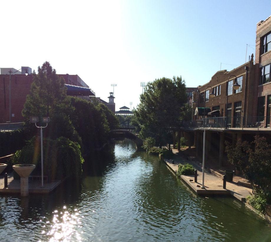 Bricktown Canal, Oklahoma City, OK. photo credit Robert Ogilvie.