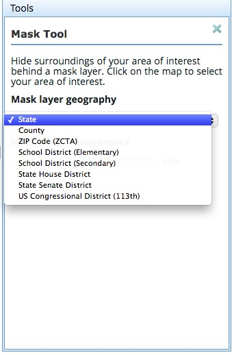Mask Geography