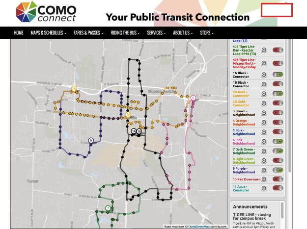 COMO connect 625