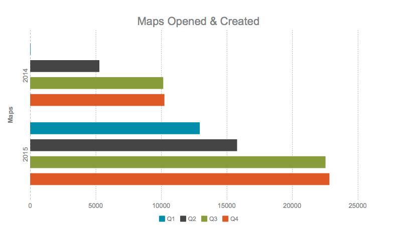 Maps Opened