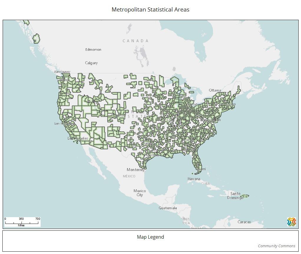 MSA Map