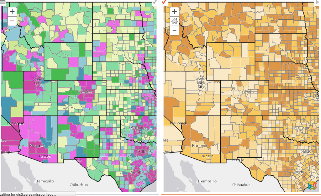 rural-side-by-side maps