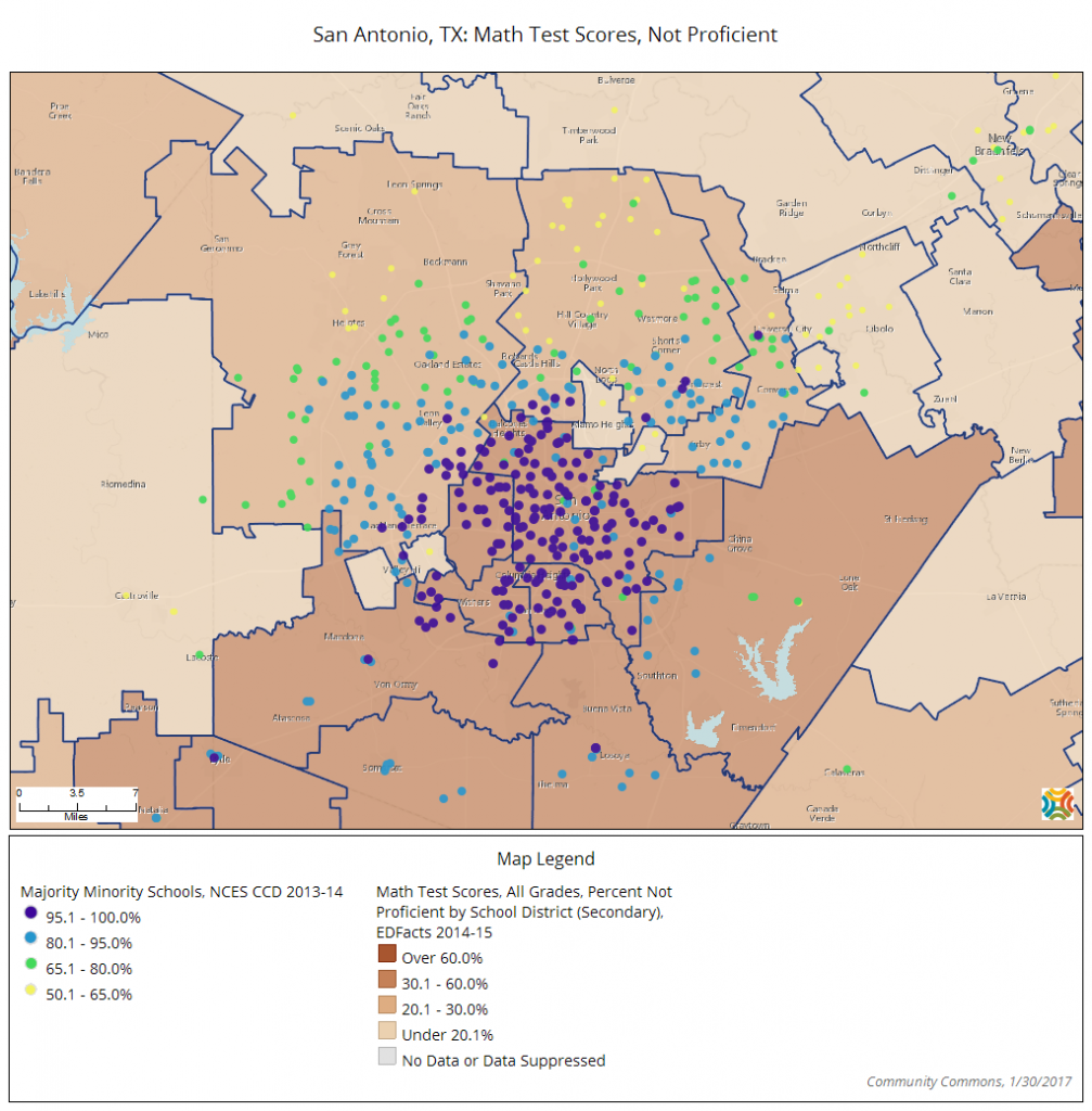 san-antonio-tx-math-test-scores-not-proficient map